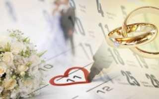 Можно ли жениться в субботу