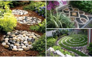 Камни в саду как украшение участка