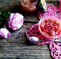 Рецепт варения из лепестков роз