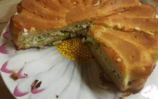 Заливной пирог с луком и яйцом рецепт
