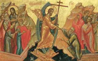 История праздника пасха кратко