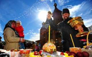 История праздника пасха в россии