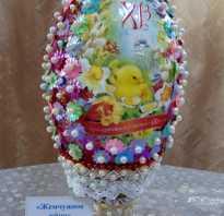 Аппликация пасхальные яйца