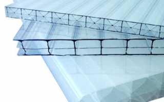 Плотность поликарбоната 4 мм для теплиц