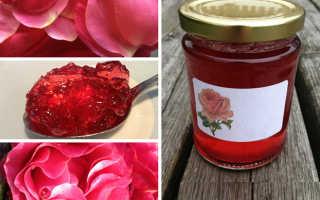 Химический состав варенья из розы